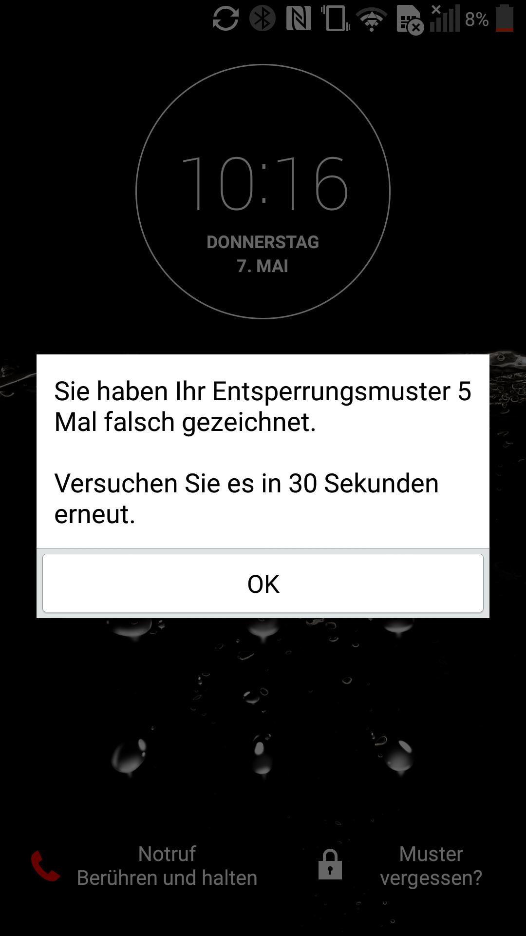 Pin Code Fur Sperrbildschirm Vergessen Androidhandy