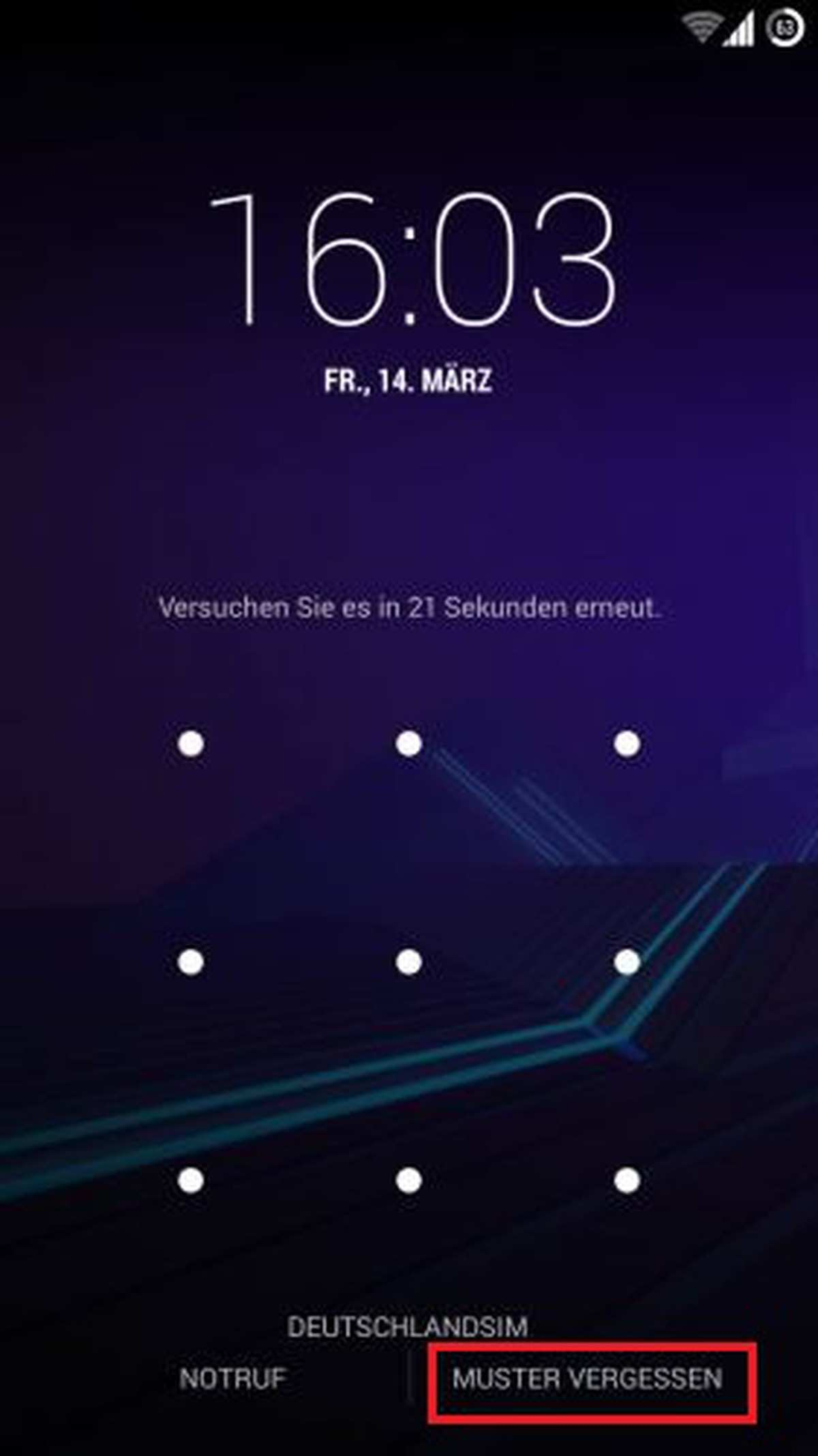 Android Sperrcode Vergessen Was Tun Chip