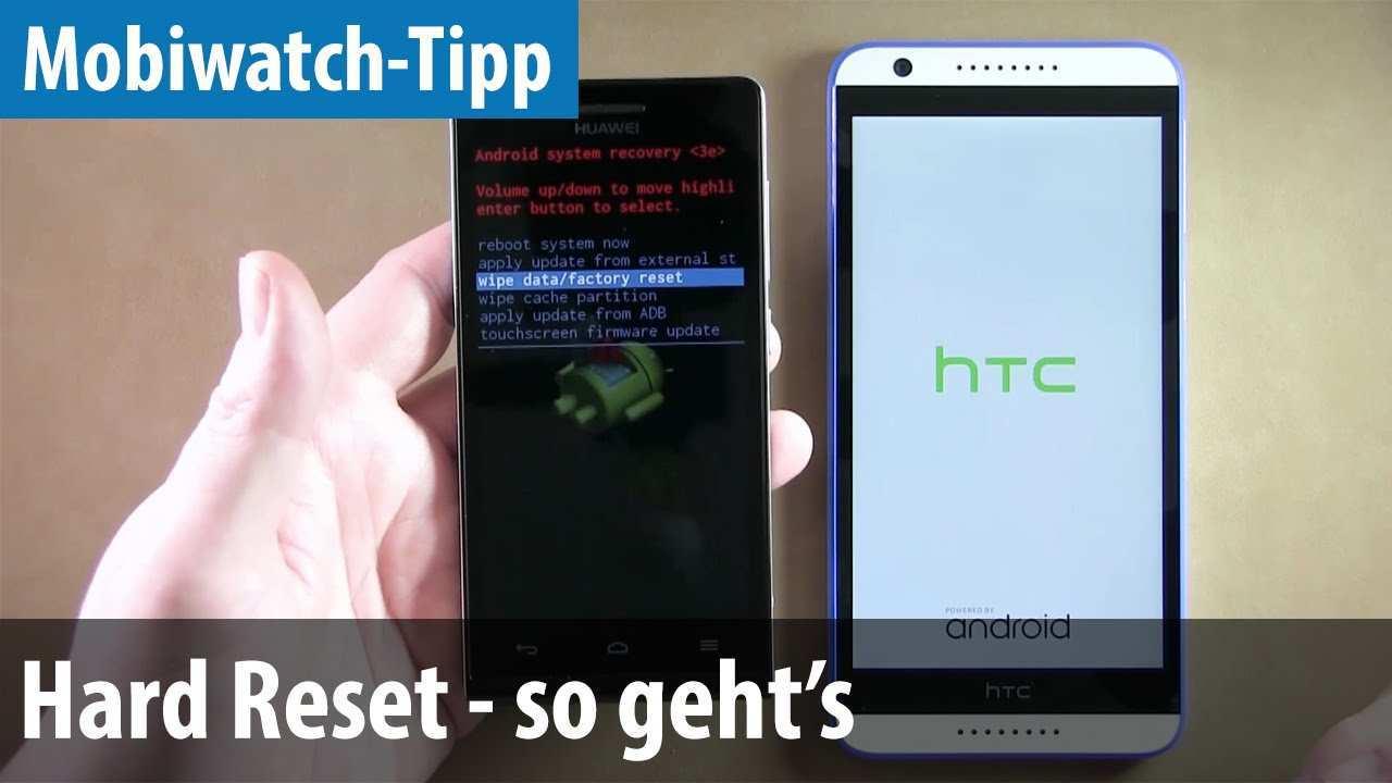 Hard Reset Auf Dem Smartphone Durchfuhren So Geht S Deutsch German Youtube