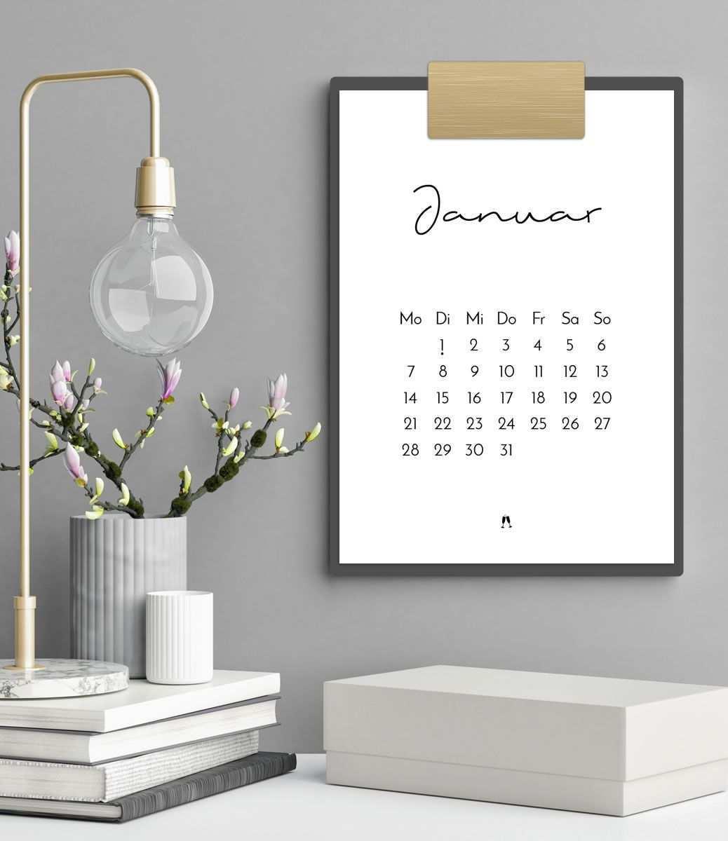 Minimalistischer Kalender 2019 Mit Feiertagen Fur Mehr Plan Und Stylische Akzente An Deinem Arbeitsplatz Oder Kalender Kalender Zum Ausdrucken Druckvorlagen