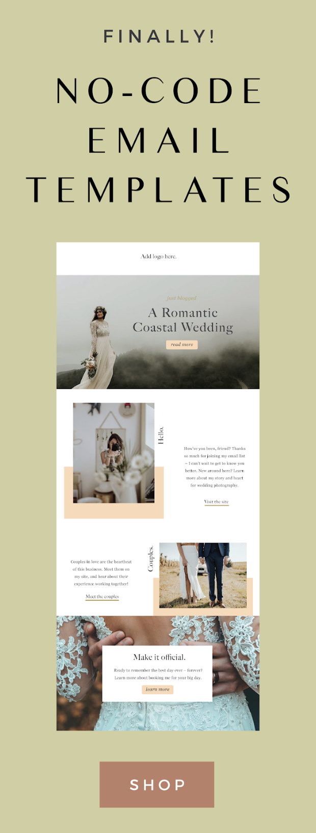 Eryn Customizable Email Template Lindsay Scholz Studio Creative Studio For Woman Owned Businesses In 2020 Email Newsletter Design Email Design Newsletter Design Templates