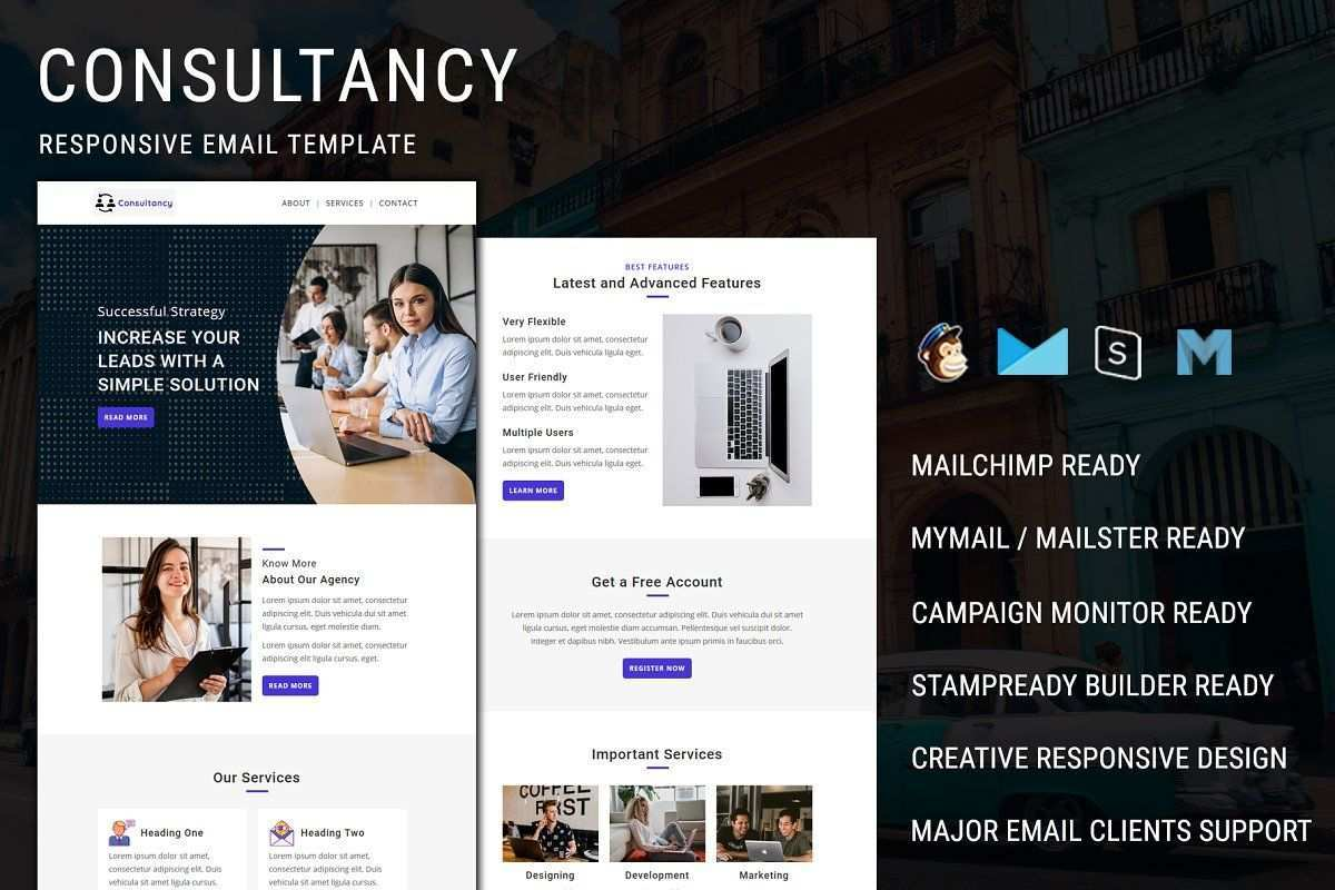 Consultant Divi Layout Sponsored Layout Page Suitable Consultant In 2020 Email Templates Responsive Email Template Responsive Email