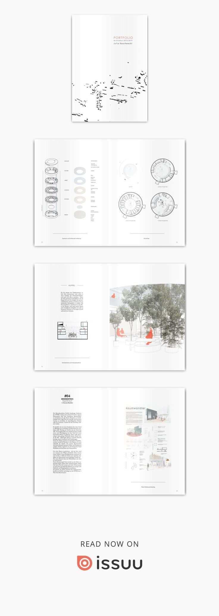 Architecture Portfolio 2019 By Julia Koschewski Collected Works 2015 2019 Architectural Studies Htwk Leipzig Germany In 2020 Architektur Portfolio Leben Portfolio