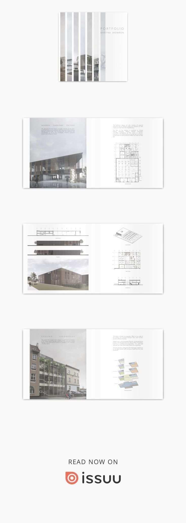 Portfolioarchitektur Portfolio Design Layouts Architektur Portfolio Architektur Portfolio Layout