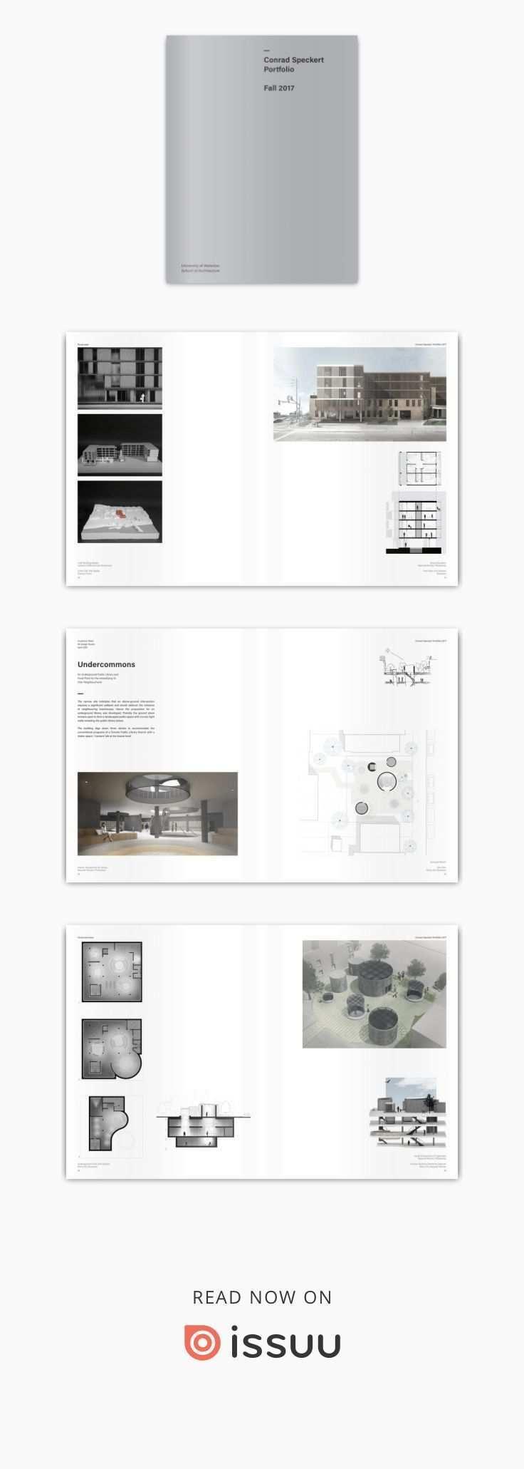 Conrad Speckert Portfolio 2017 School Architecture Architecture Portfolio Architecture Design