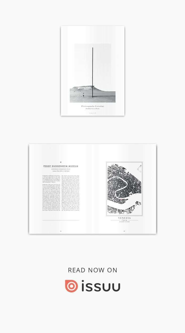 P O R T F O L I O P I E T R O P A O L O C R I S T I N I S E L E C T E D Architecture Portfolio Layout Architecture Portfolio Architecture Portfolio Design