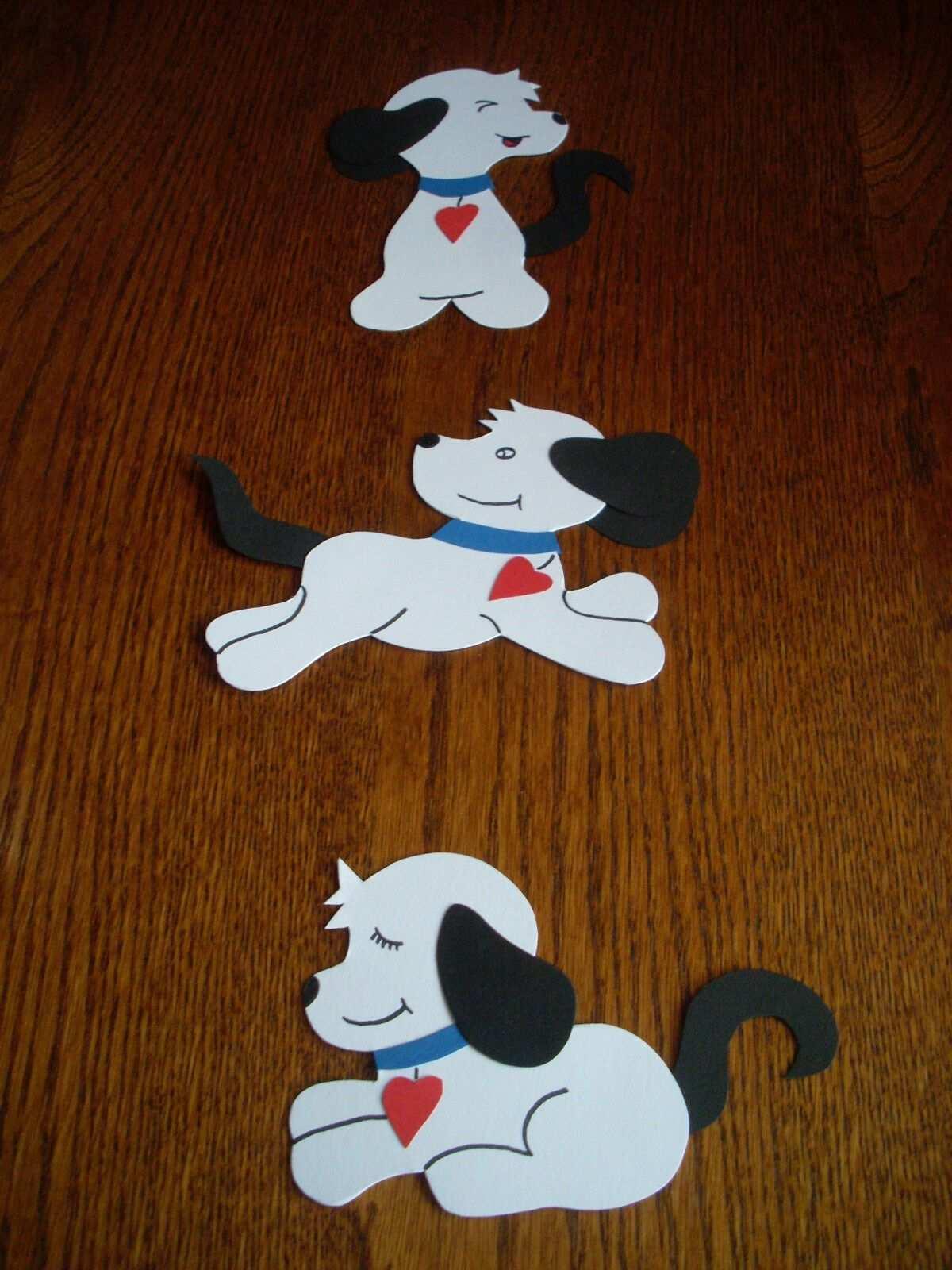 Fensterbild Kette Deko Tonkarton Handarbeit Basteln Hund Hunde Weiss Neu Basteln Coole Diy Geschenke Schultute Basteln