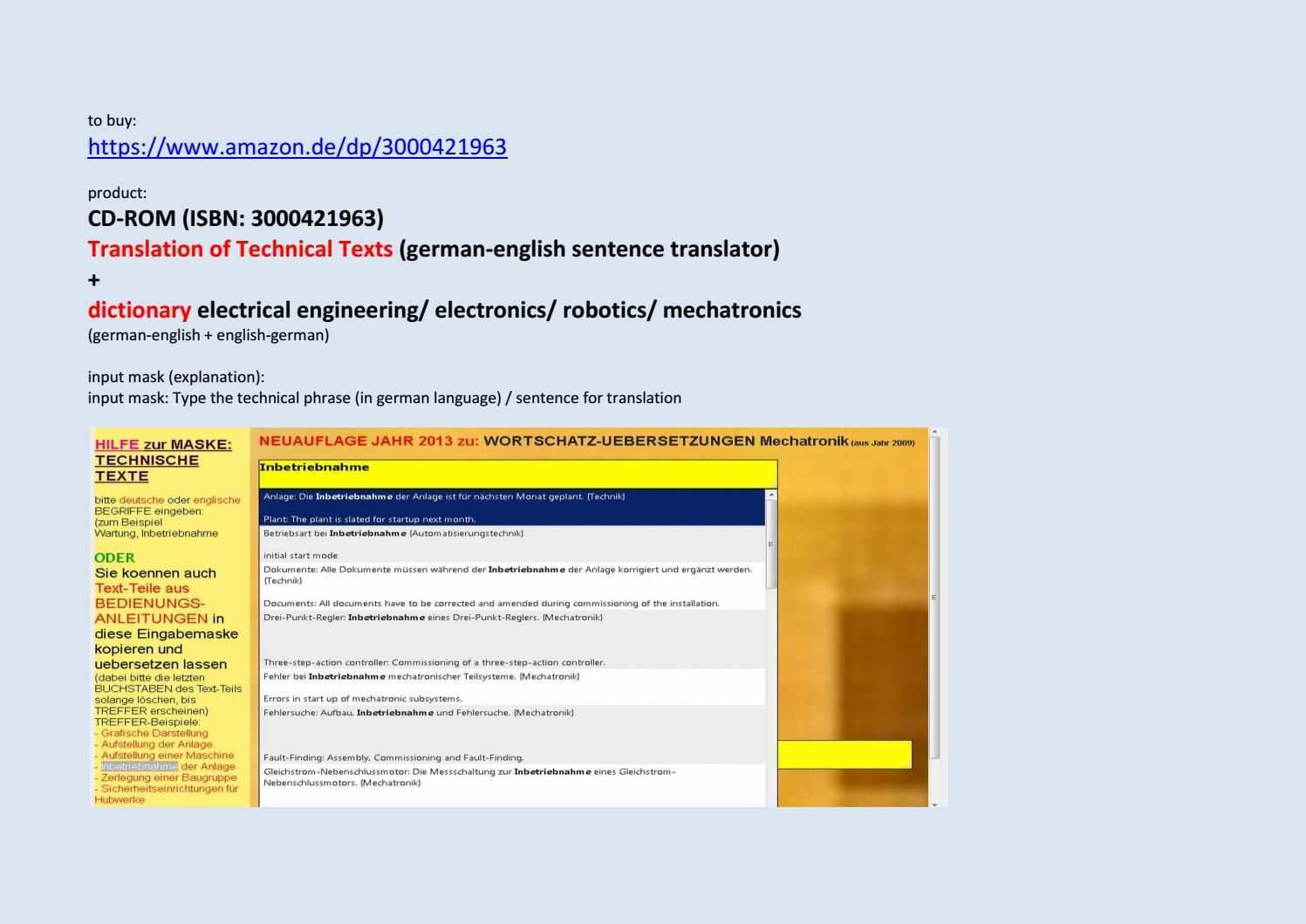 Technical And Scientific Texts German English Translation German English Texts English Sentences