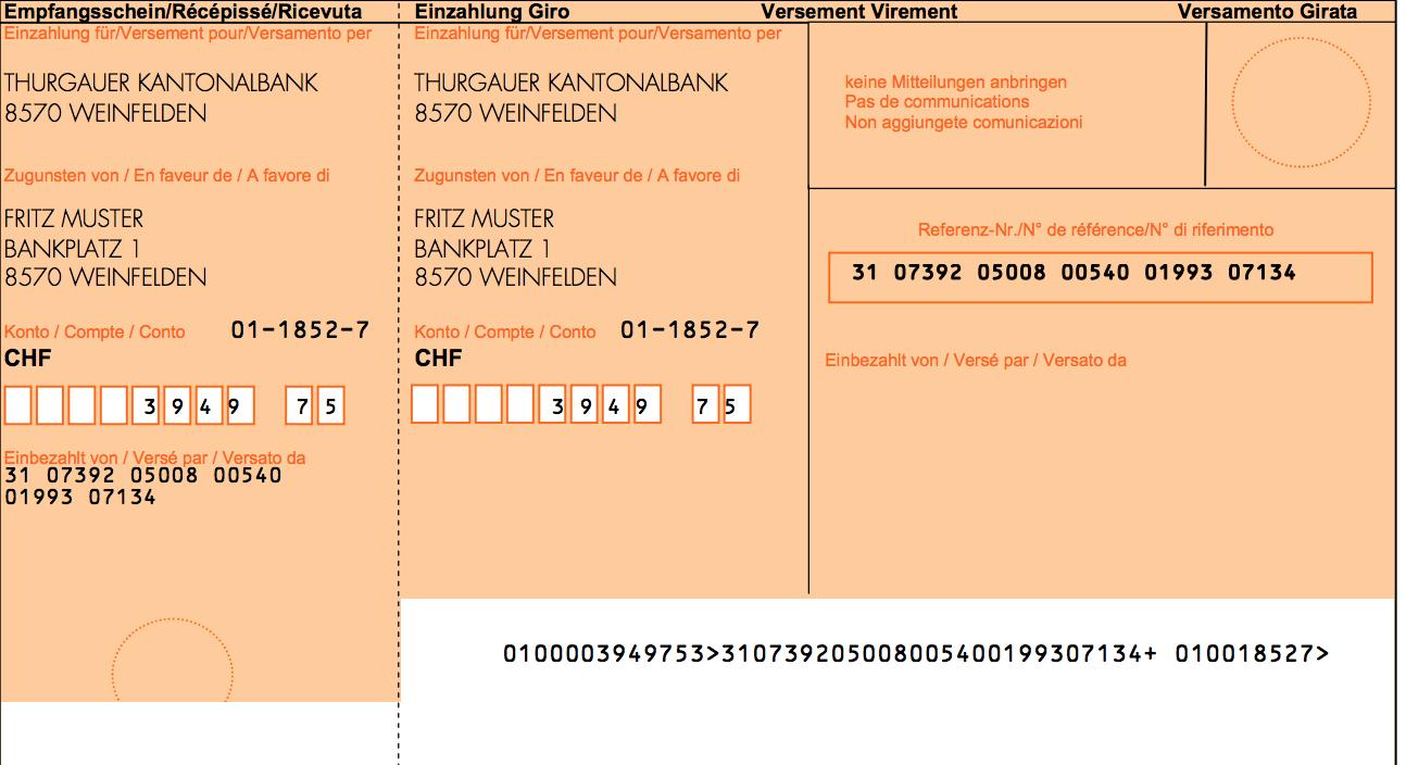 Varianten Einzahlungsschein Wahlen Und Drucken Issue 425 Hitobito Hitobito Github