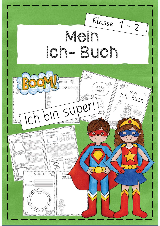 Mein Ich Buch Bucher Sachunterricht Grundschule Wunsche Fur Die Zukunft