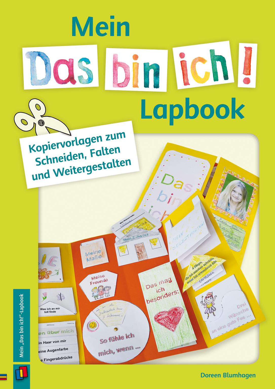 Mein Das Bin Ich Lapbook Lapbook Vorlagen Forderschule Lernheft
