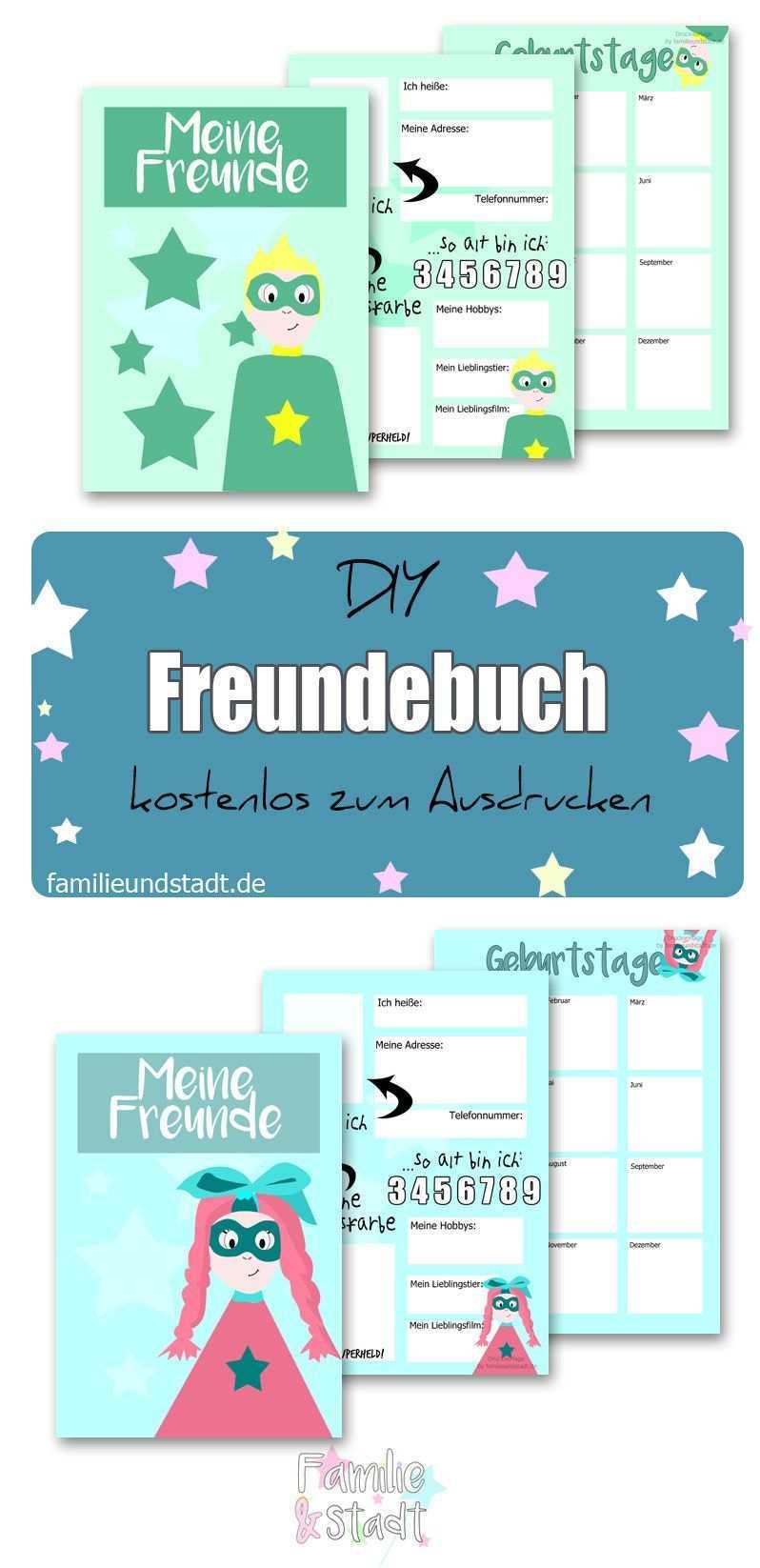 Freundebuch Fur Die Schule Vorlage Zum Ausdrucken Freunde Buch Freundebuch Freundebuch Kindergarten