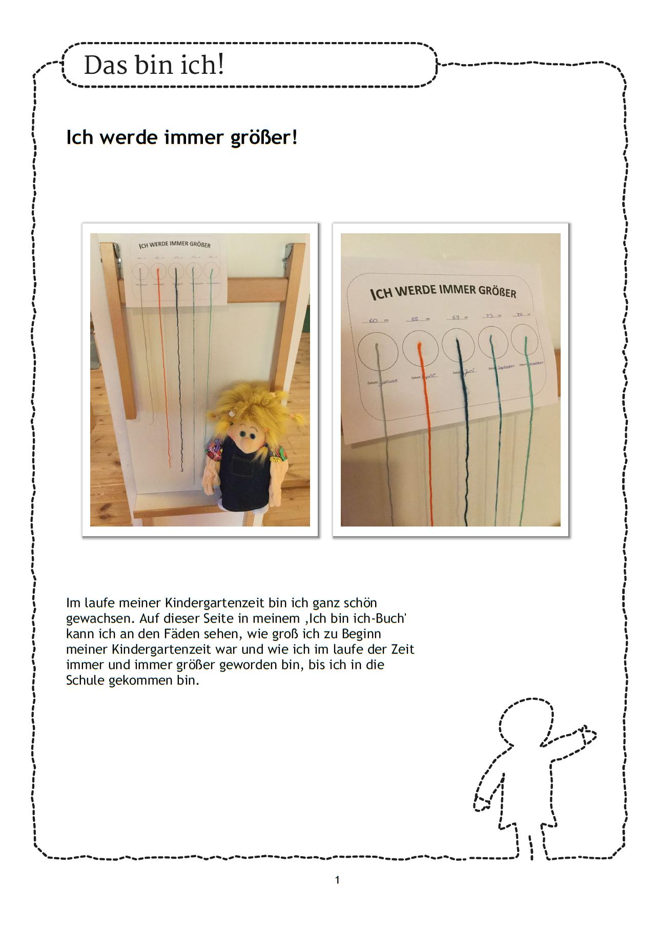 Ich Bin Ich Buch In Der Kita Wie Ware Es Hier Mit Einem Beitrag Dazu Wie Die Kinder Gewachsen Sind Jedes Kind Portfolio Kindergarten Bucher Portfolioarbeit