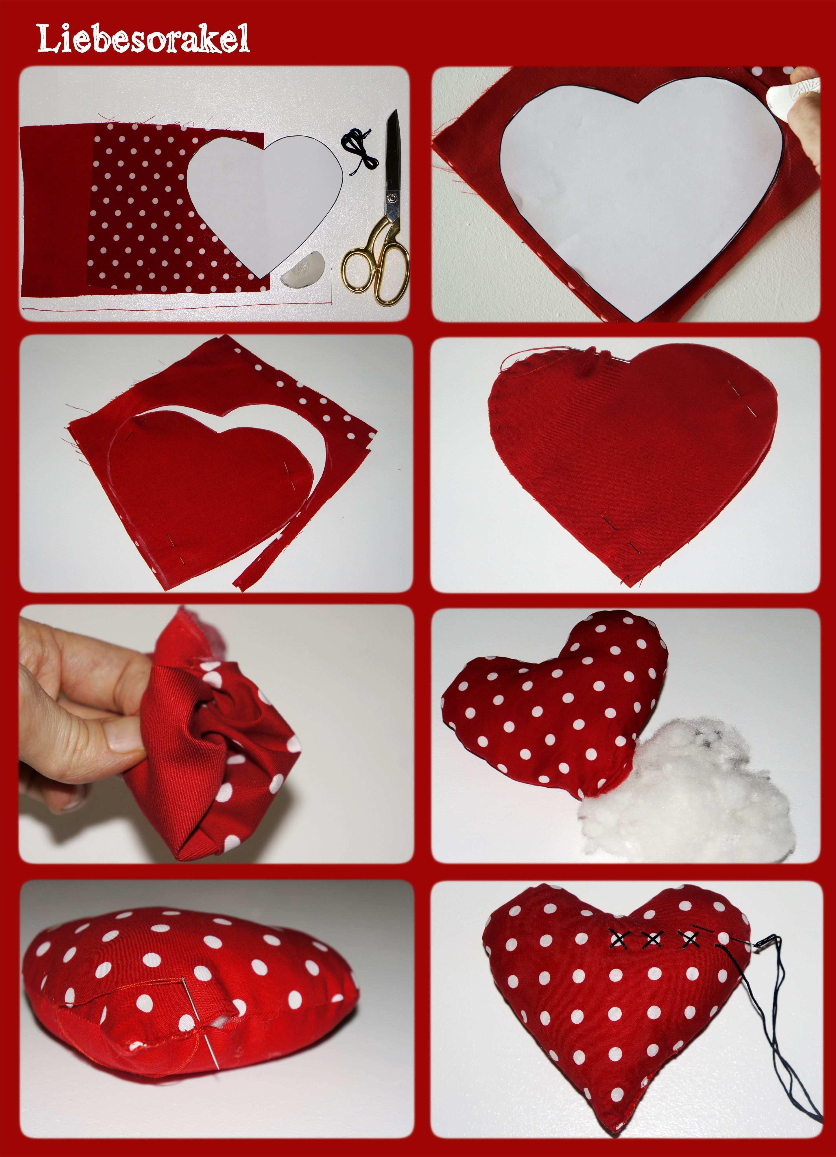Valentinstag Liebesorakel Handmade Kultur Kreativ Valentinstag Liebesorakel