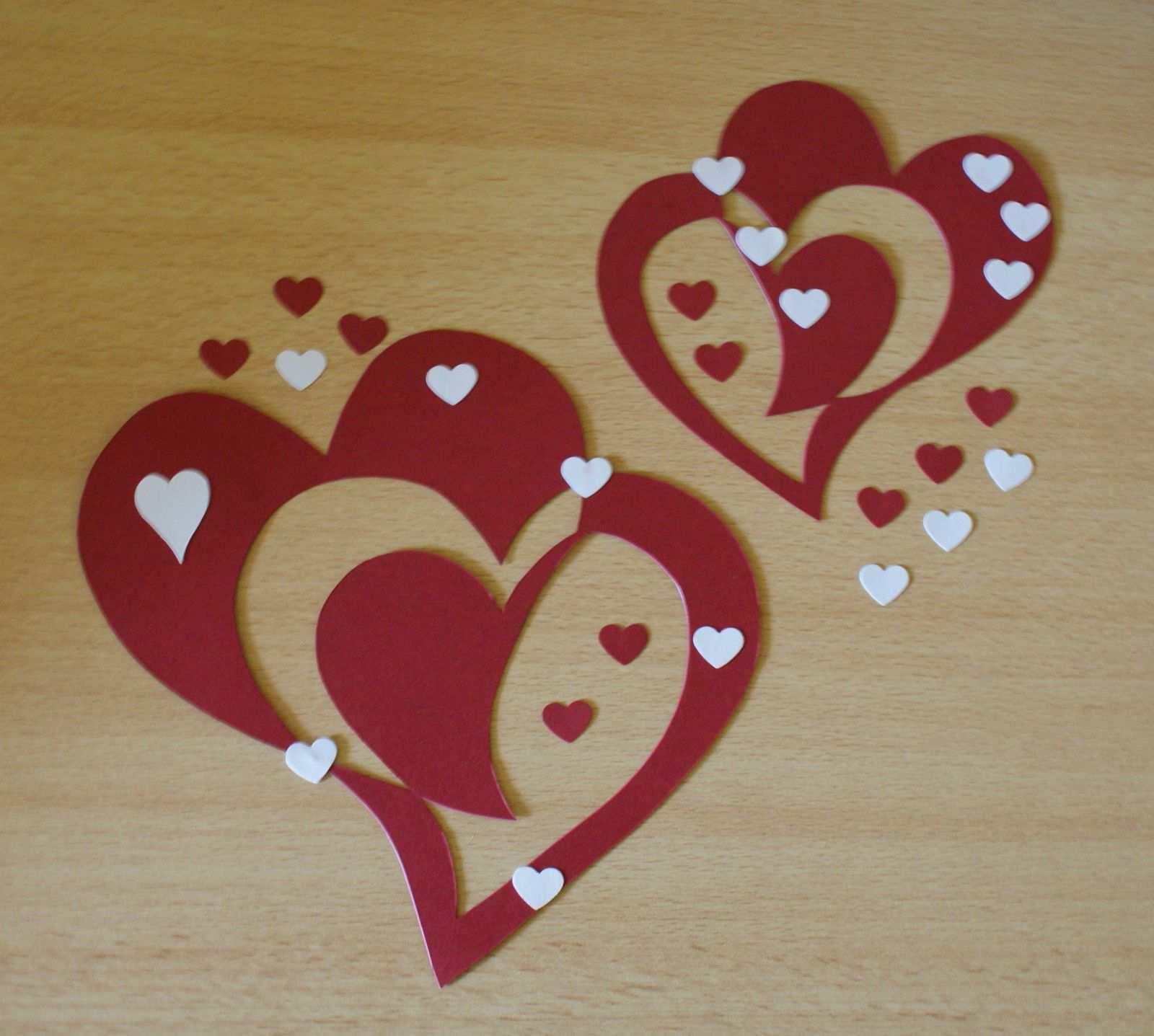 Fensterbild Doppelherzen Herz Tonkarton Filigran Herbst Deko Liebe Freundschaft Eur 3 20 Tonkarton Basteln Anleitung Valentinstag Dekoration