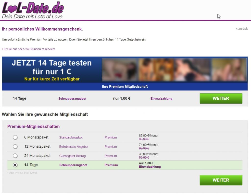Lol Date De Der Ideo Labs Gmbh Sexdating Zum Dumpingpreis Rechtsanwalt Thomas Rader
