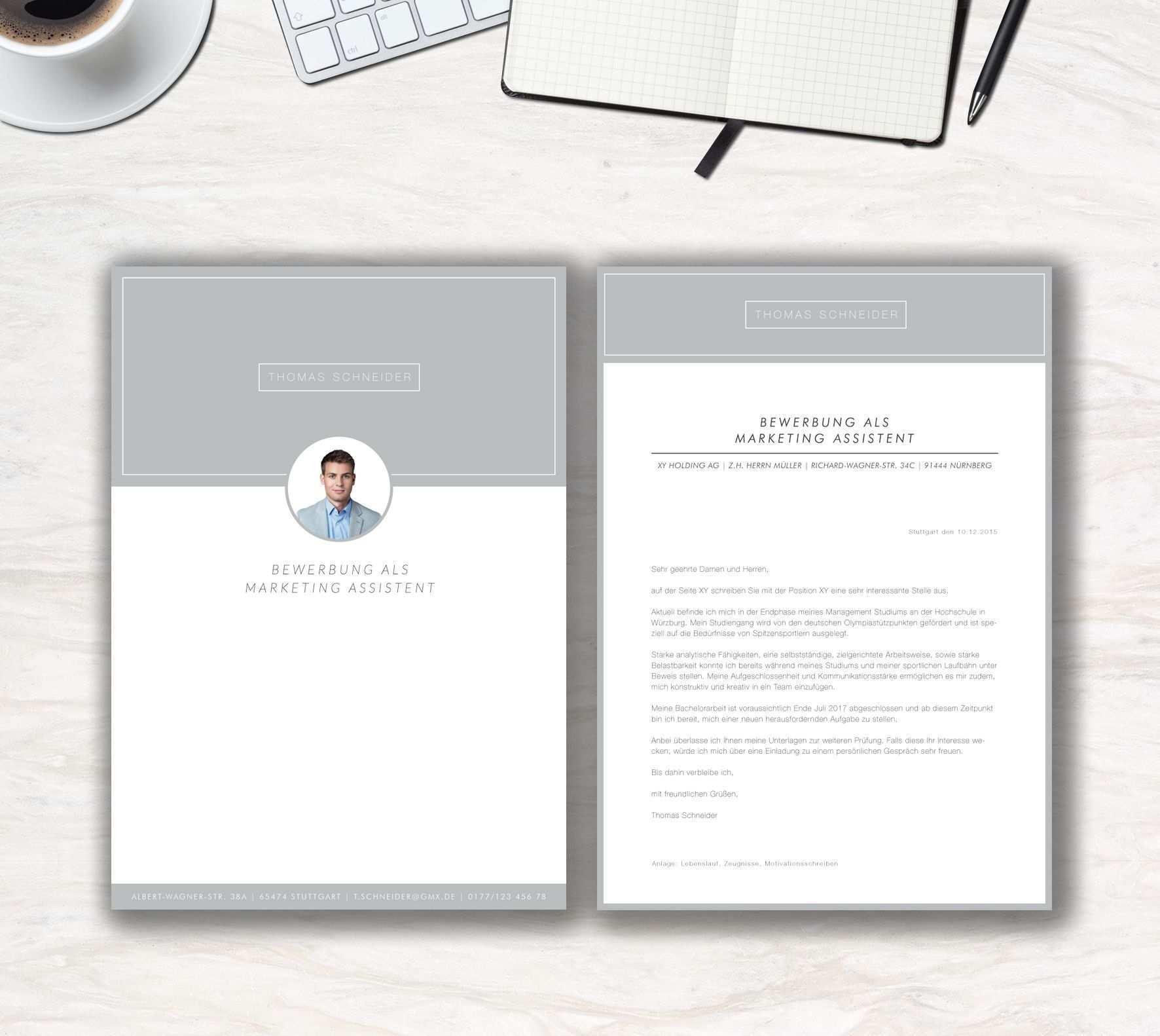 Unsere Bewerbungsvorlage Modern Office In Der Farbe Ice Grey Modern Clean Das Ist Die Aussage Der Bewerbungsvorl Lebenslauf Bewerbung Bewerbung Schreiben