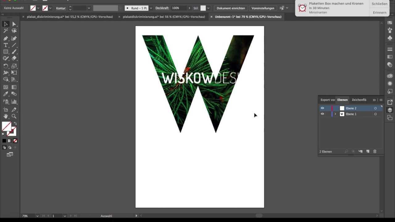 Schrift Mit Bild Tutorial Illustrator Cc 2017 Youtube