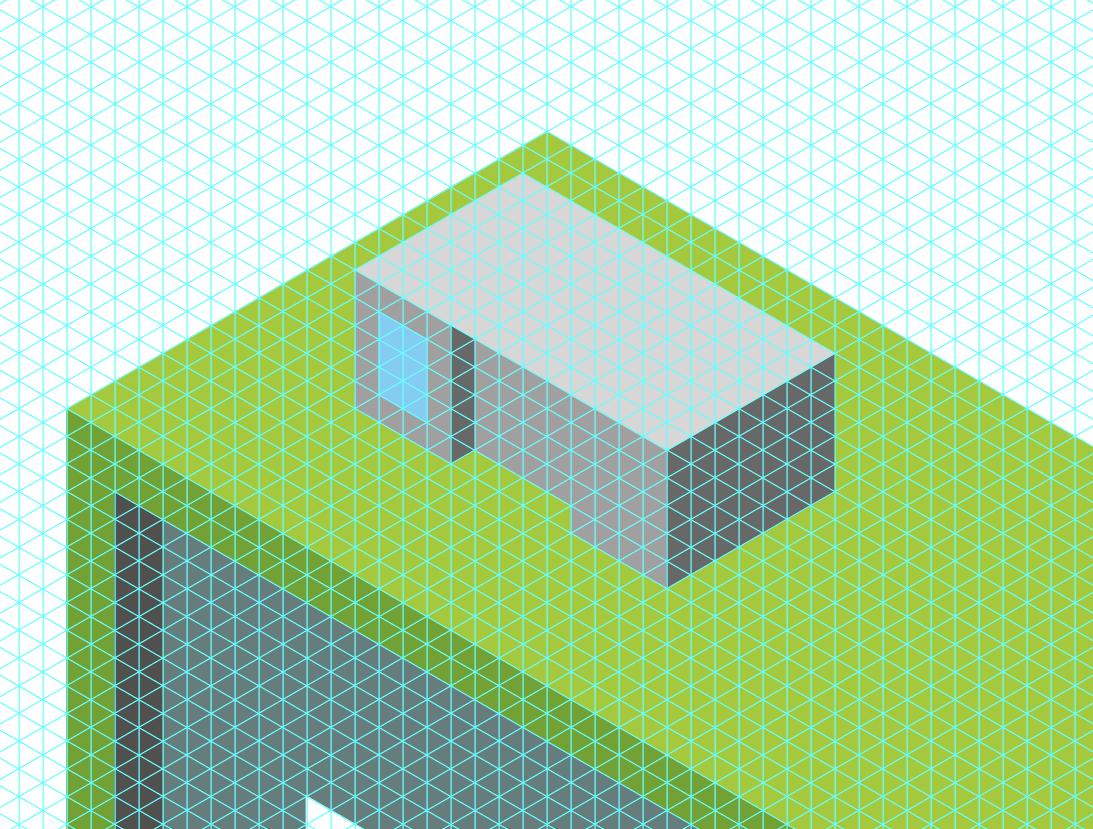 Isometrische Skalierung Des Illustrators Antworten Hier