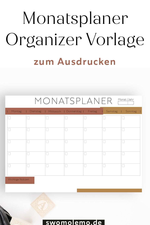 Monatsplaner Zum Ausdrucken Pdf Swomolemo Monatsplaner Zum Ausdrucken Pdf Blanko Vorlage Zum Ausdrucke In 2020 Monatsplaner Planer Vorlagen Monatsplaner Vorlage