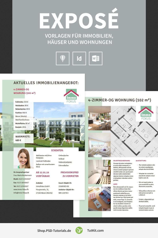Hochwertige Immobilien Expose Vorlagen Immobilien Vorlagen Immobilienanzeigen