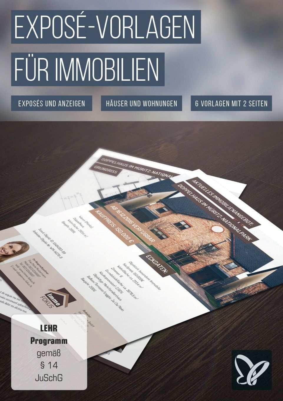 Hochwertige Immobilien Expose Vorlagen Immobilien Expose Immobilien Vorlagen