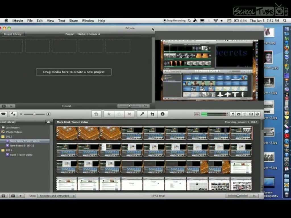 Imovie Instructions For Book Trailer Video Book Trailer Videos Book Trailer Book Trailers