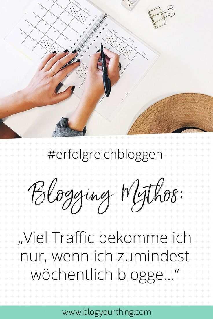 Erfolgreich Bloggen In 2019 14 Mythen Die Du Nicht Mehr Glauben Darfst Erfolgreich Bloggen Bloggen Und Blog Tipps