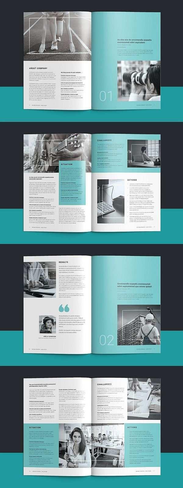 45 Corporate Brochure Templates For Adobe Indesign Booklet Design Brochure Design Layout Booklet Template