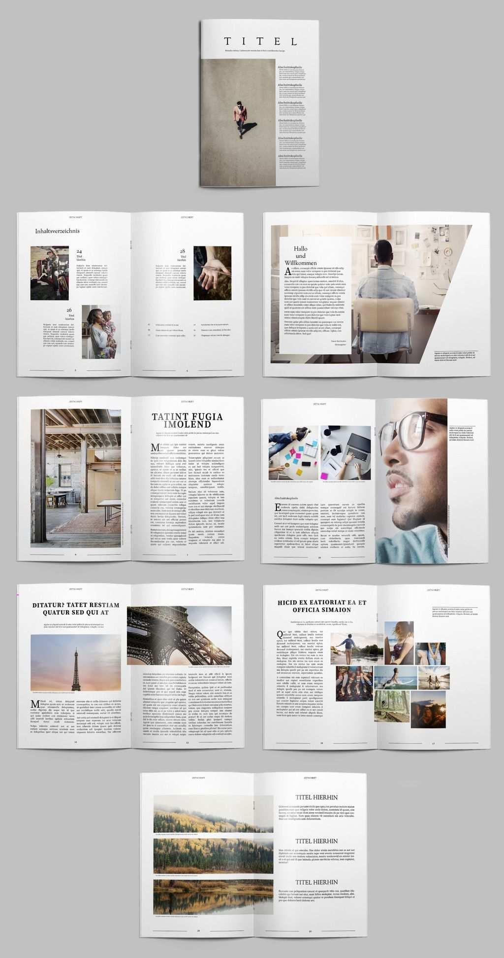 Kostenlose Indesign Vorlagen Fur Magazine Creative Blog By Adobe Indesign Vorlagen Bookletgestaltung Indesign Vorlage