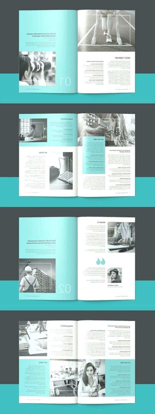 Fallstudie Broschuren Vorlage Broschure Vorlage Broschuren Indesign Te Book Design Layout Booklet Template Brochure Layout