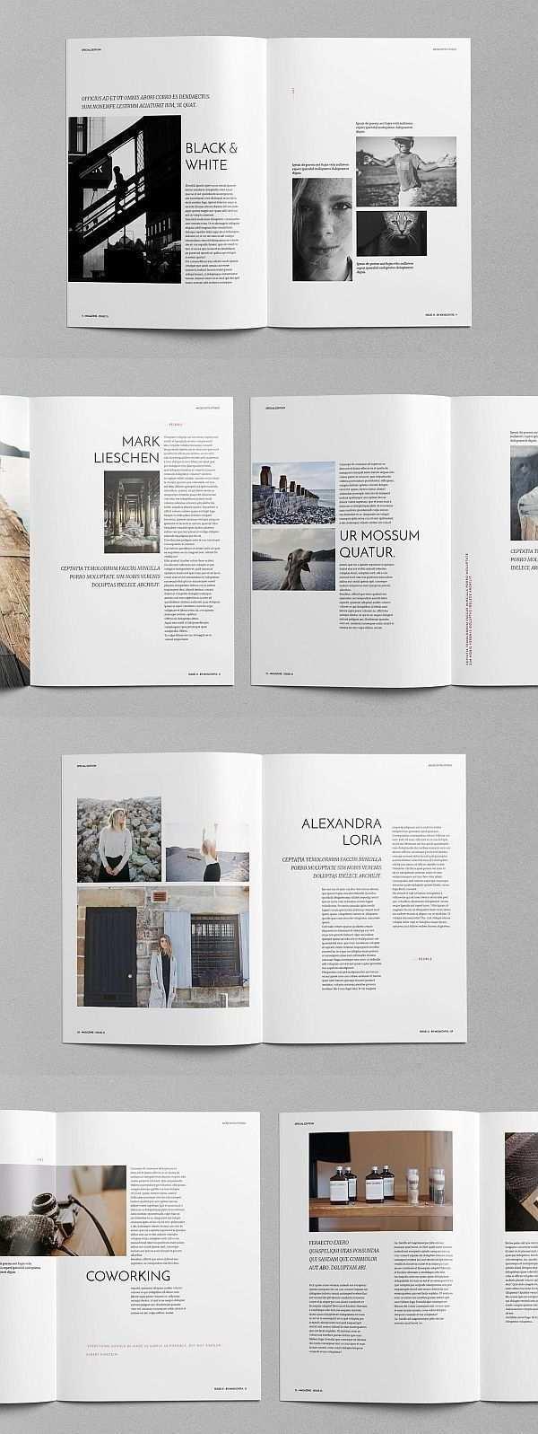 Eko Magazine Vorlage Magazine Broschure Vorlage Brochuretemplate Brochuredesign In 2020 Magazine Layout Inspiration Page Layout Design Magazine Layout Design