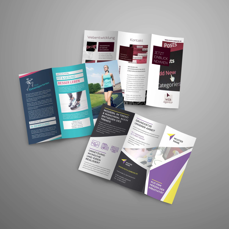 Flyer Und Folder Gestalten Fertige Design Vorlagen Herunterladen Vorlagen Fur Flyer Flyer Vorlagen