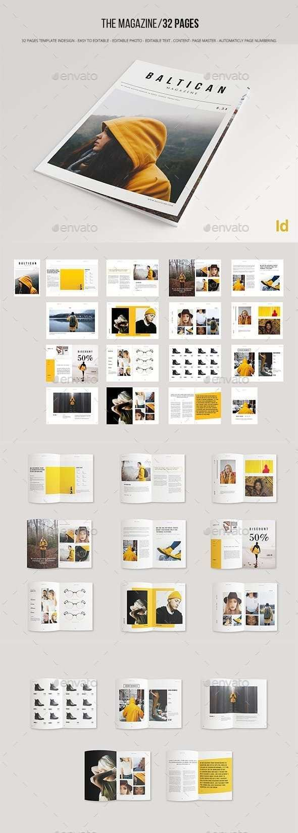 Brochure Template Indesign Indd Brochure Indd Indesign Template Layout Design Broschure Design Zeitschriften Layouts