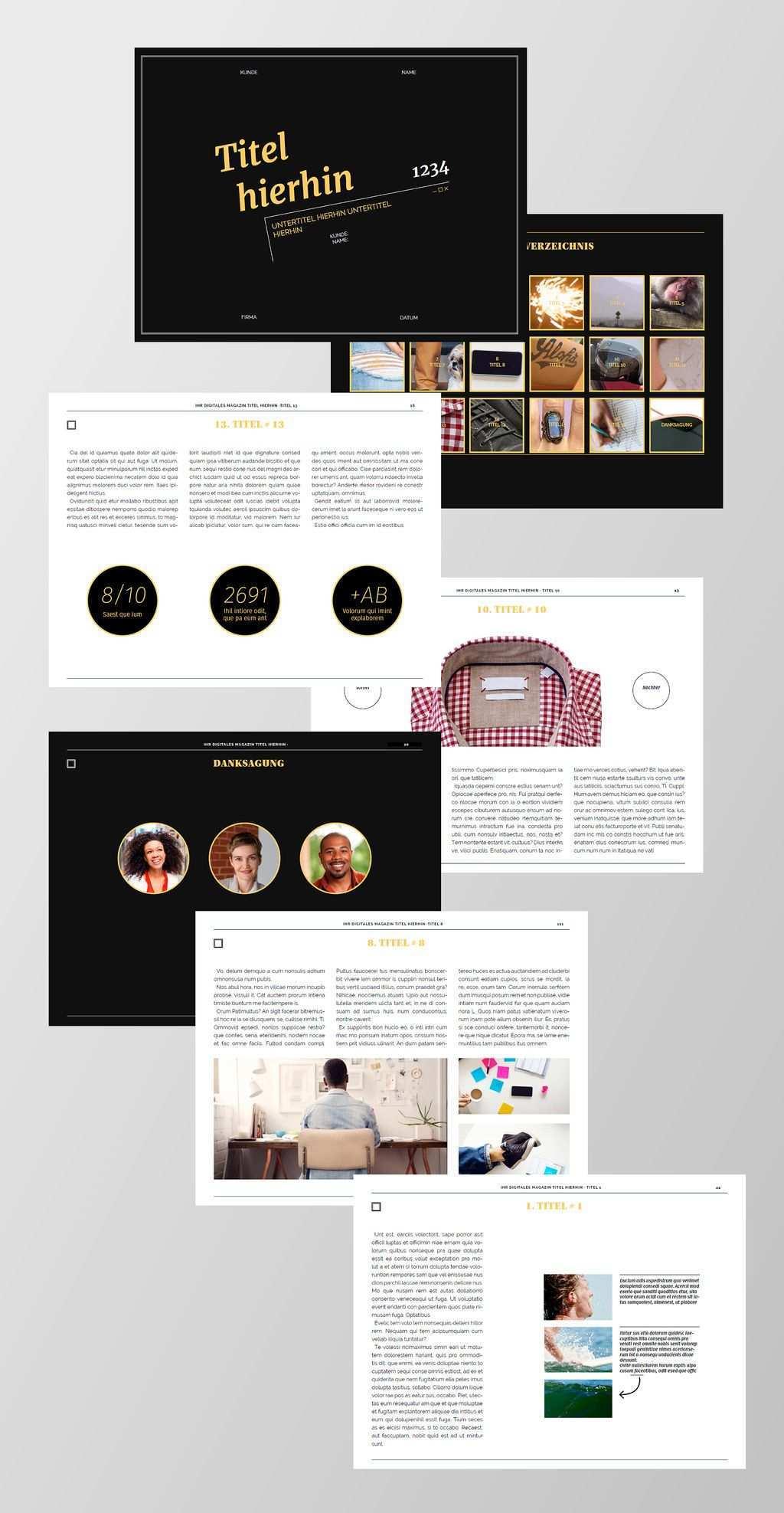 Kostenlose Indesign Vorlagen Fur Magazine Creative Blog By Adobe Free Indesign Magazine Templates Digital Magazine Layout Health Magazine Layout