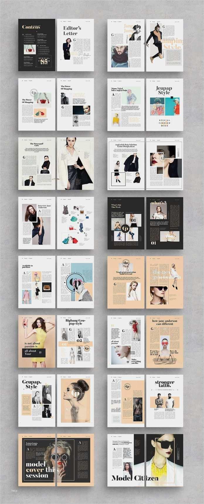 39 Erstaunlich Indesign Layout Vorlagen Zeitschrift Bilder Modezeitschriften Entwurf Magazin Design Editorial Design Layouts