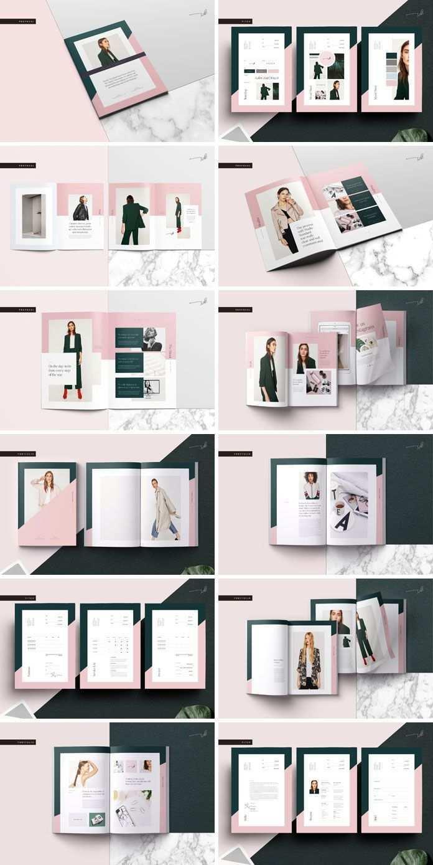 Galerie Pitch Pack Adobe Indesign Template Portfolio Design Layouts Indesign Vorlagen Bookletgestaltung