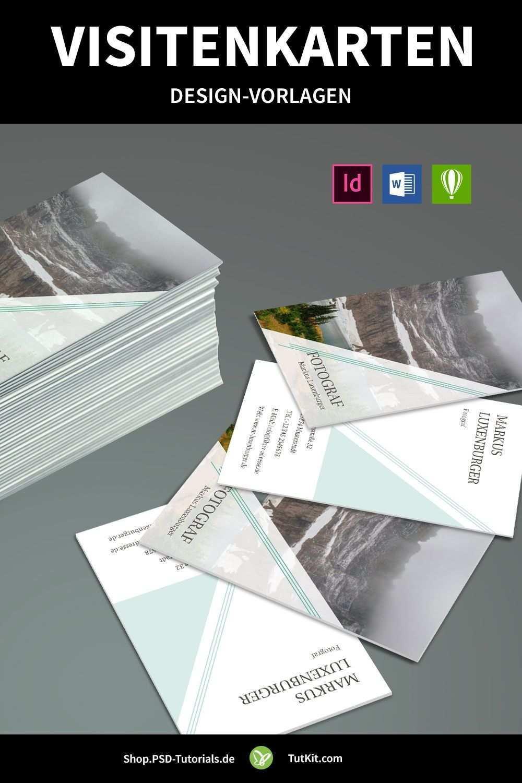 Design Vorlagen Fur Visitenkarten Herunterladen Word Indesign Corel Visitenkarten Visitenkarten Design Visitenkarten Vorlagen