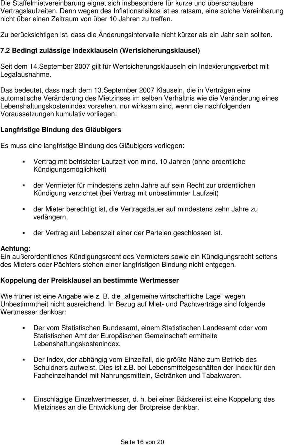 Muster Eines Geschaftsraum Mietvertrages Und Merkblatt Pdf Free Download
