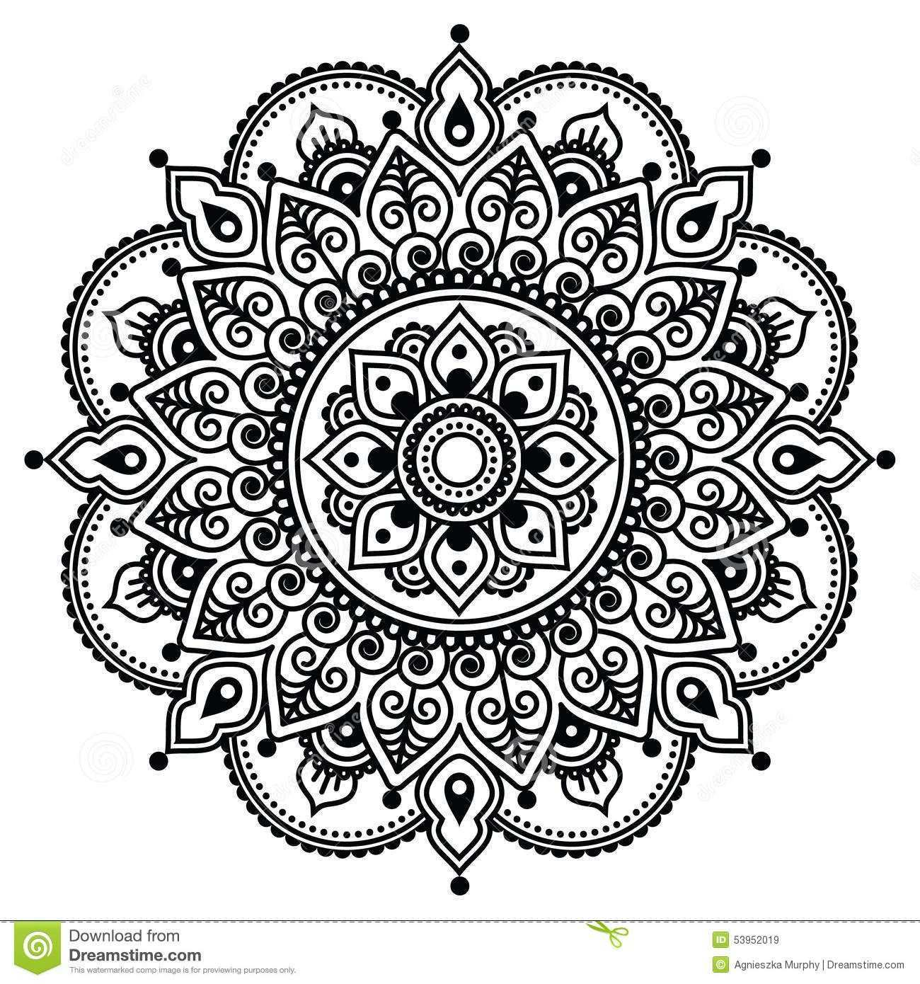 Mehndi Indian Henna Tattoo Pattern Background Actor Ornament Orient Traditional Style 53952019 Jpg 1300 1390 Indian Henna Tattoo Pattern Henna Tattoo