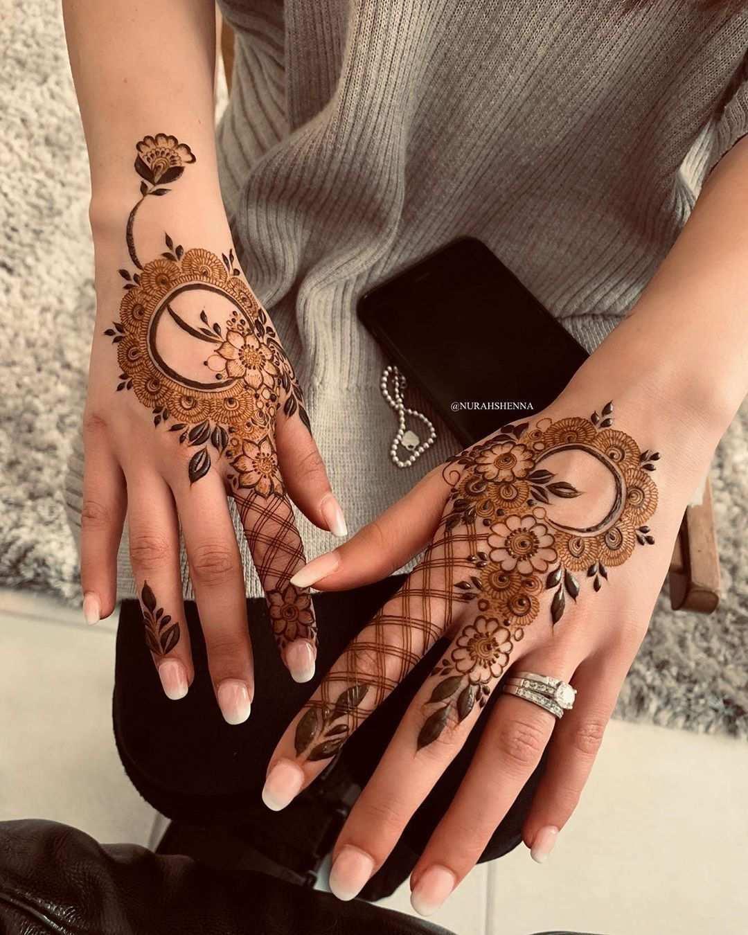 From Nurahshenna On Instagram Finger Henna Designs Arabic Henna Designs Latest Mehndi Designs