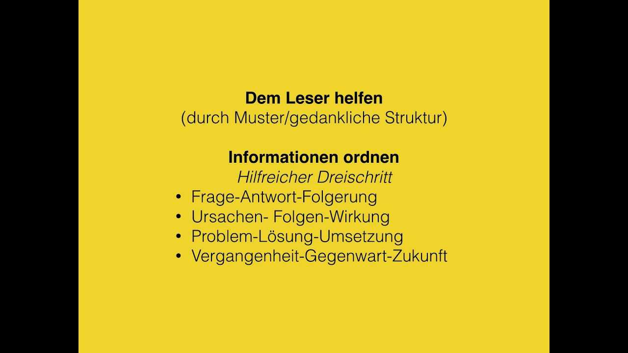 Abi Deutsch Materialgestutztes Schreiben Informativer Texte Youtube