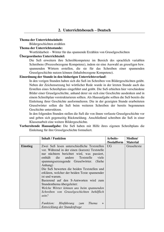 Ub Entwurf Wortfeld Gruselworter Unterrichtsmaterial Im Fach Deutsch Gruselgeschichten Wortfelder Grusel