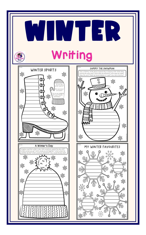 Winter Writing Templates Unterrichtsmaterial In Den Fachern Englisch Fachubergreifendes In 2020 Unterrichtsmaterial Englischunterricht Lernstrategien