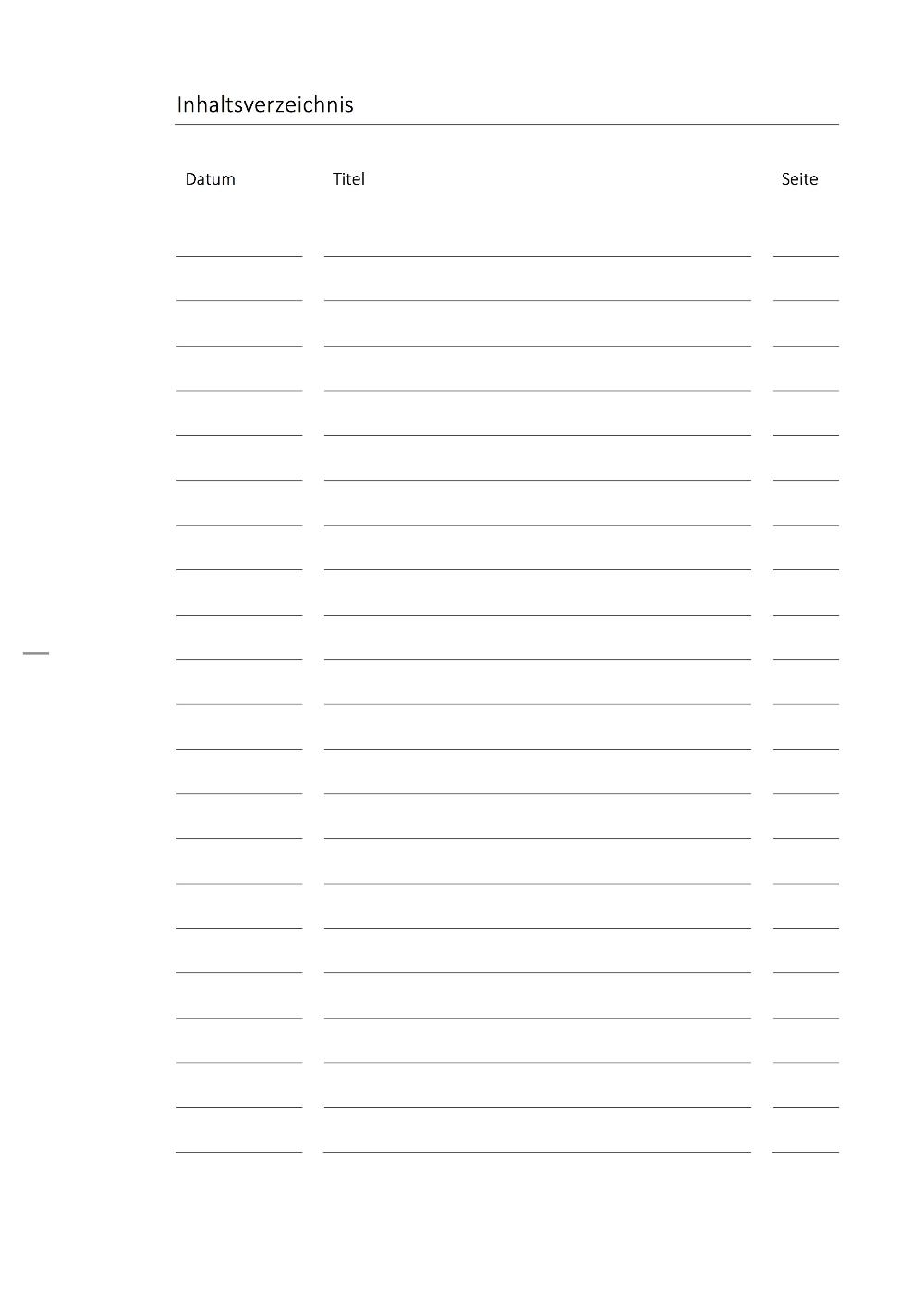 Inhaltsverzeichnis Vorlage Zum Ausdrucken Fur Die Schule Vt26 Verwandt Mit Inh Inhaltsverzeichnis Zum Ausdrucken Inhaltsverzeichnis Vorlage Inhaltsverzeichnis