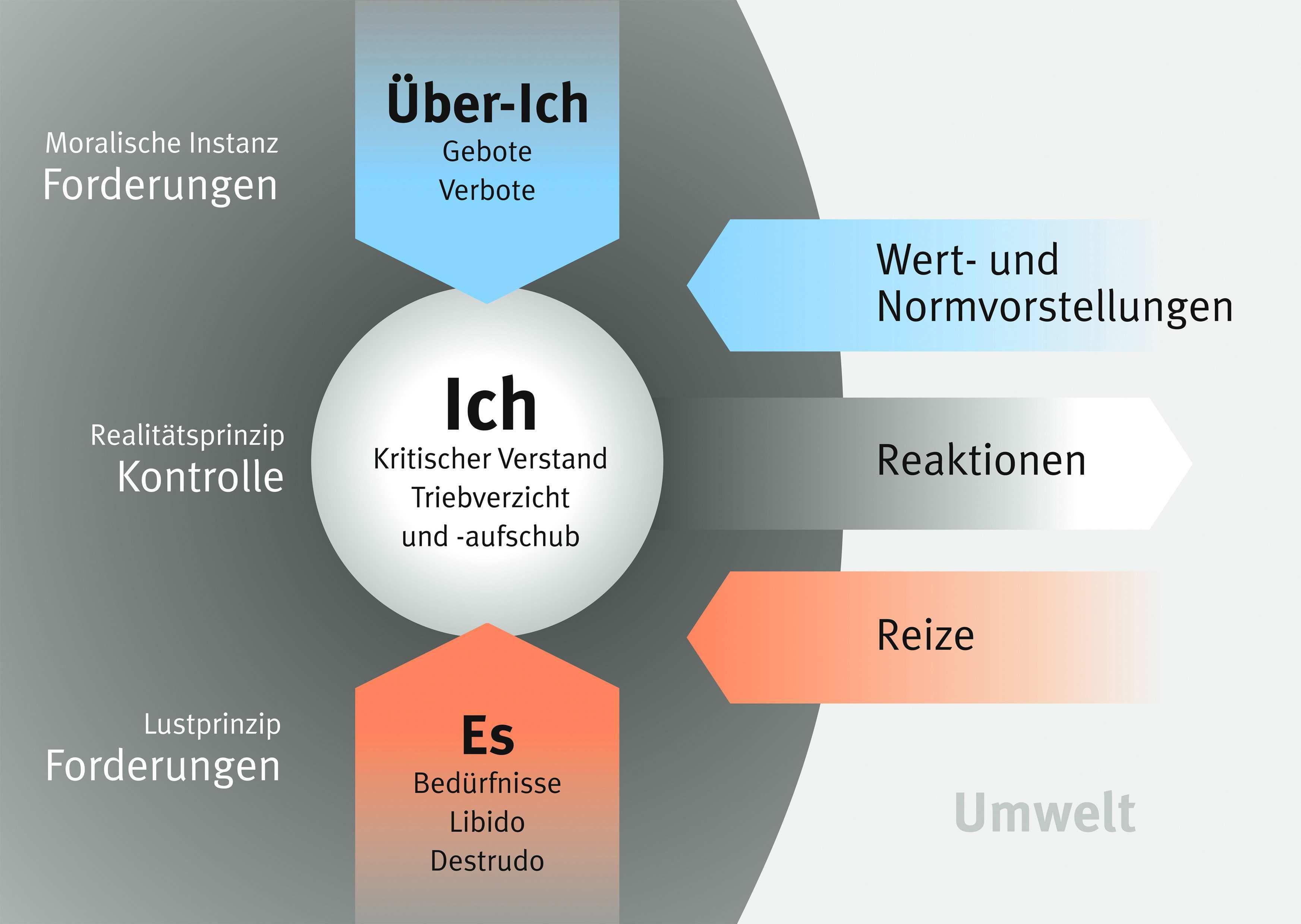 Freud Instanzenmodell Und Abwehrmechanismus