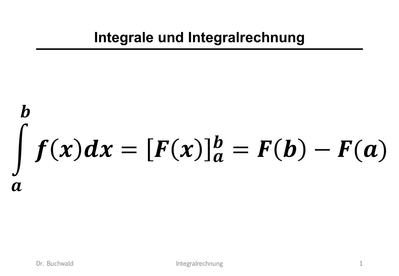 Integralrechnung Folien Mathematik Unterrichtsmaterial Im Fach Mathematik Mathematik Mathematikunterricht Bruchrechnen