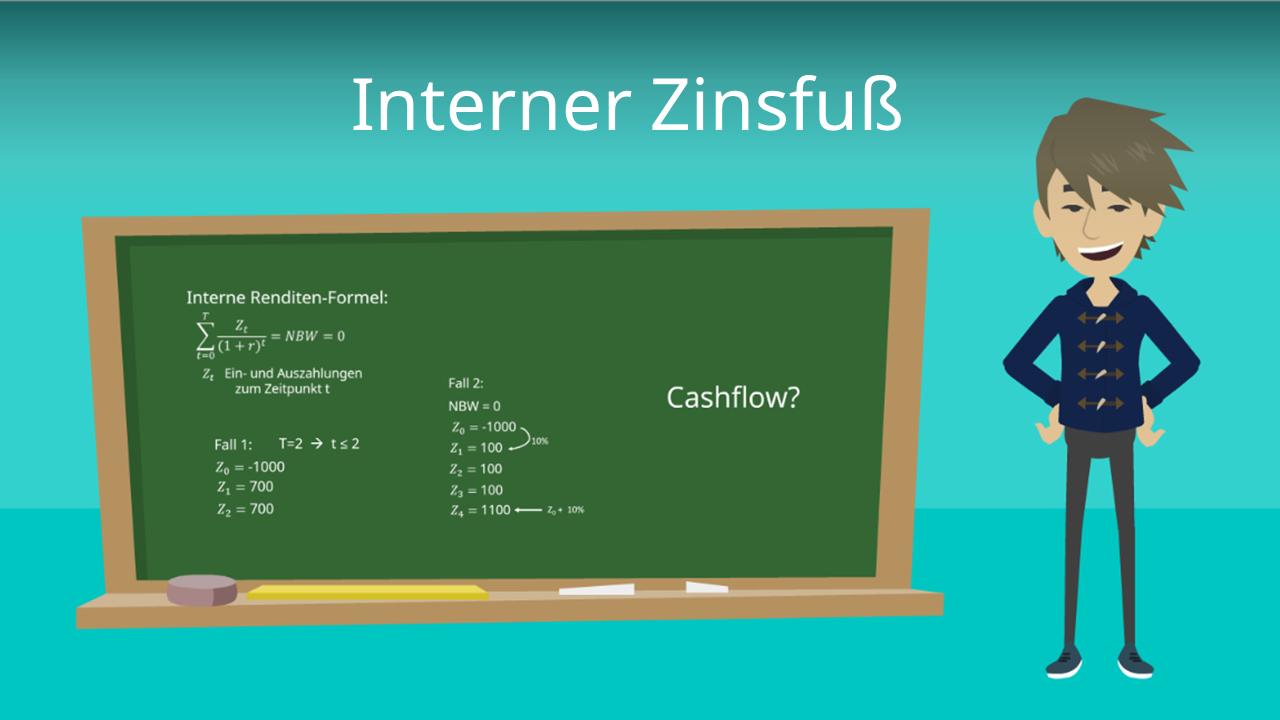 Interner Zinsfuss Definition Formel Und Beispiele Mit Video