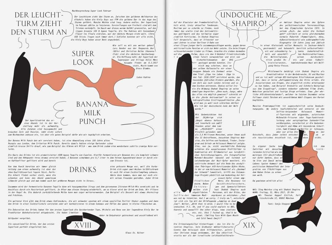 Bureauborsche Superpaper Magazine Bureauborsche Mirkoborsche Technodesign Joaodrumond Illustration Munich Love Book Design Print Layout Scary Books
