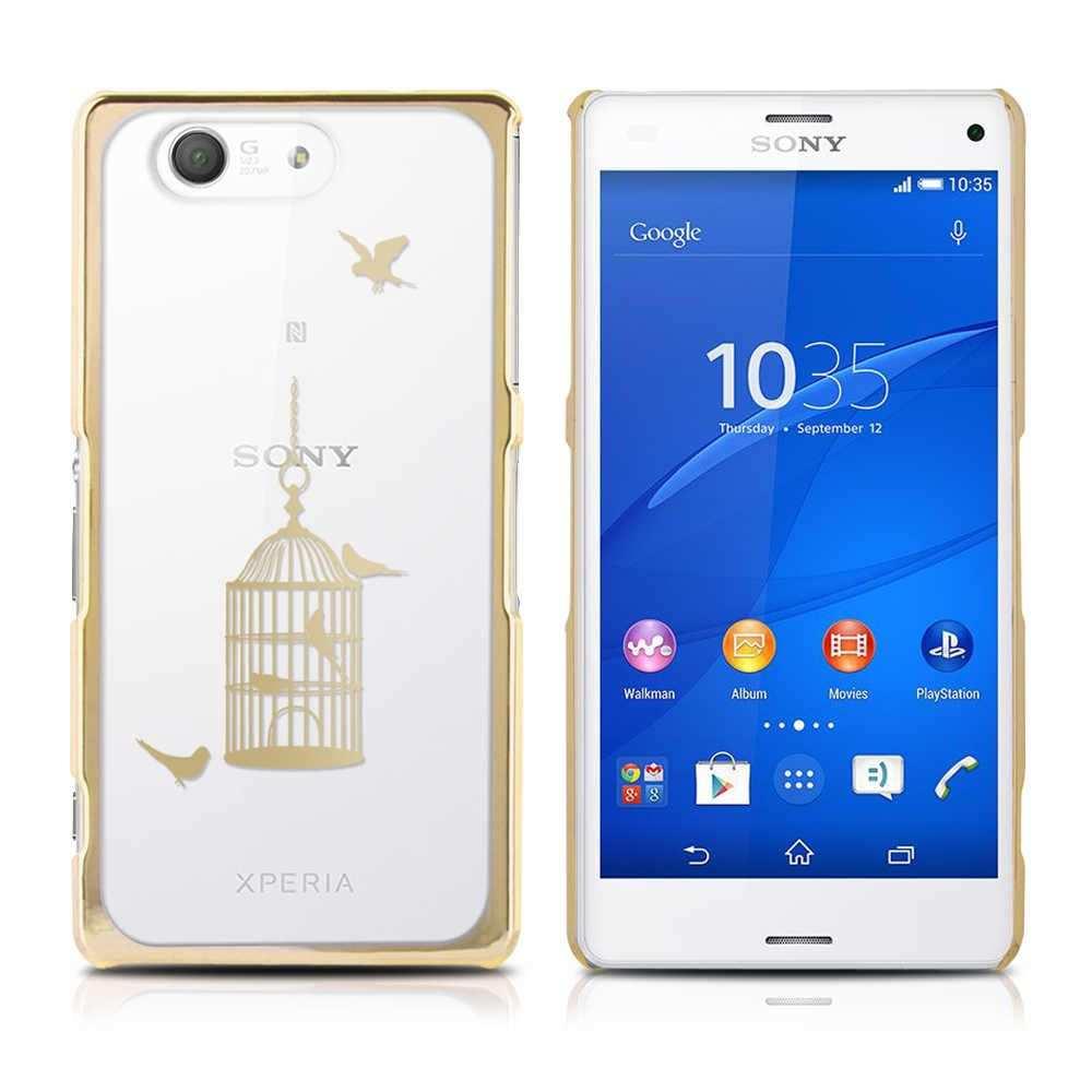 Sony Xperia Z3 Compact Huelle Tasche Schutz Case Cover Flip Etui Bumper Handy Cellular Accessories Sony Xperia Z3 Sony Xperia
